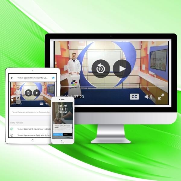 10. Sınıf Coğrafya Online Görüntülü Eğitim Seti