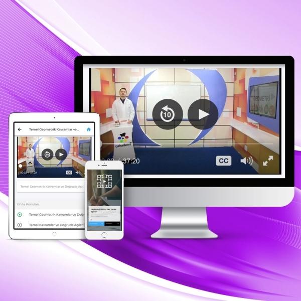 10. Sınıf Tüm Dersler Online Görüntülü Eğitim Seti