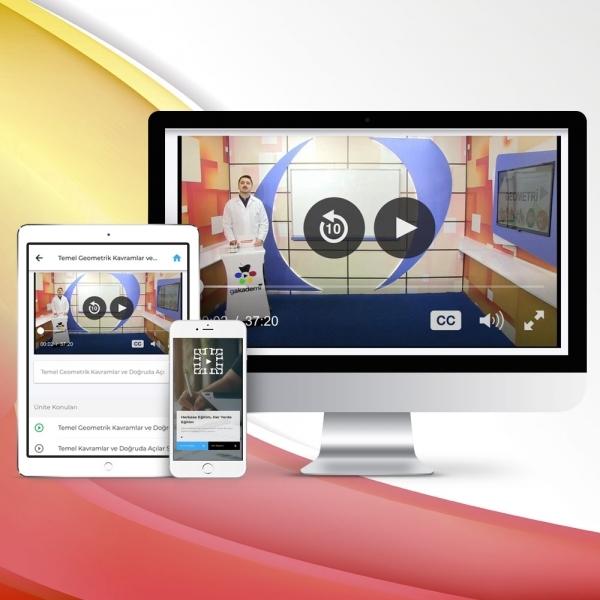11. Sınıf Coğrafya Online Görüntülü Eğitim Seti