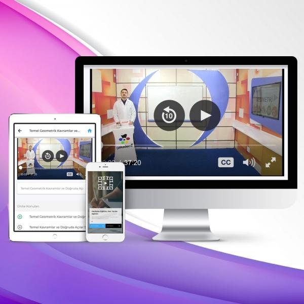 12. Sınıf Kimya Online Görüntülü Eğitim Seti