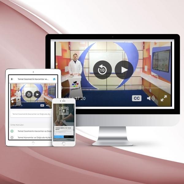 12. Sınıf Mantık Online Görüntülü Eğitim Seti