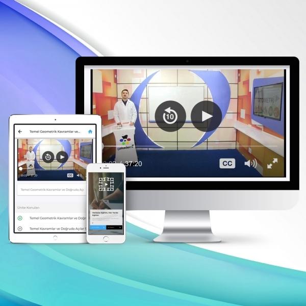 12. Sınıf Matematik Online Görüntülü Eğitim Seti
