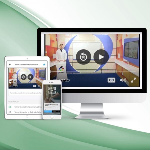12. Sınıf Tüm Dersler Online Görüntülü Eğitim Seti