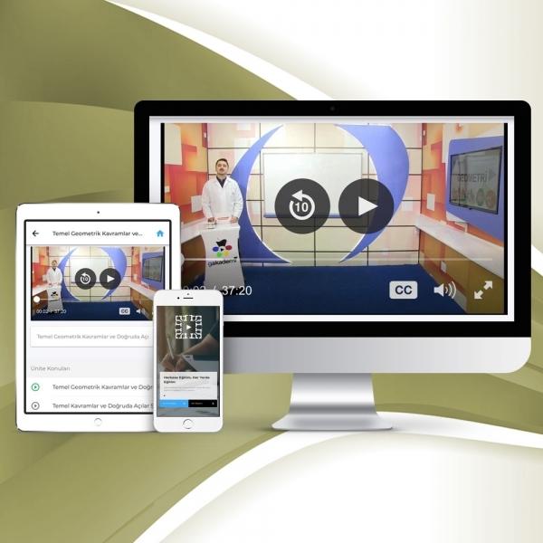 4. Sınıf Matematik Online Görüntülü Eğitim Seti