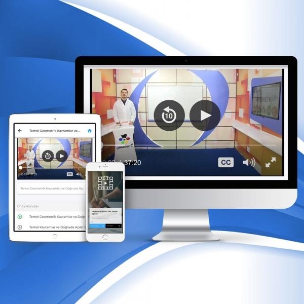 5. Sınıf İngilizce Online Görüntülü Eğitim Seti
