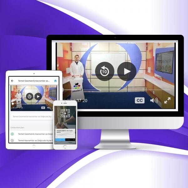5. Sınıf Matematik Online Görüntülü Eğitim Seti