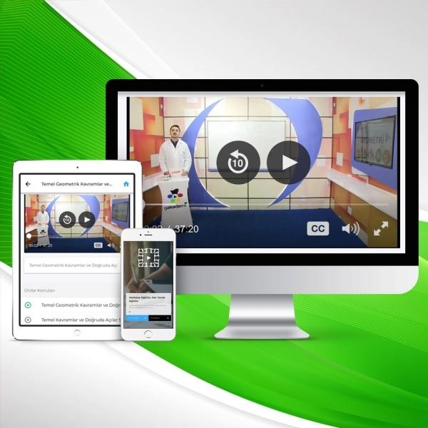 6. Sınıf İngilizce Online Görüntülü Eğitim Seti