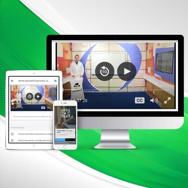 6. Sınıf Matematik Online Görüntülü Eğitim Seti