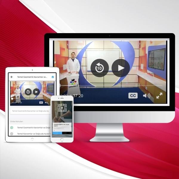 7. Sınıf Matematik Online Görüntülü Eğitim Seti