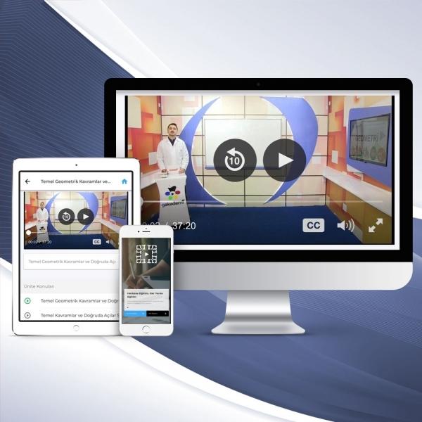 8. Sınıf Fen ve Teknoloji Online Görüntülü Eğitim Seti