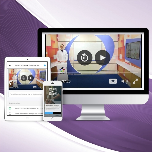 8. Sınıf İngilizce Online Görüntülü Eğitim Seti