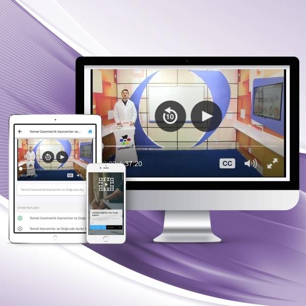 9. Sınıf Coğrafya Online Görüntülü Eğitim Seti