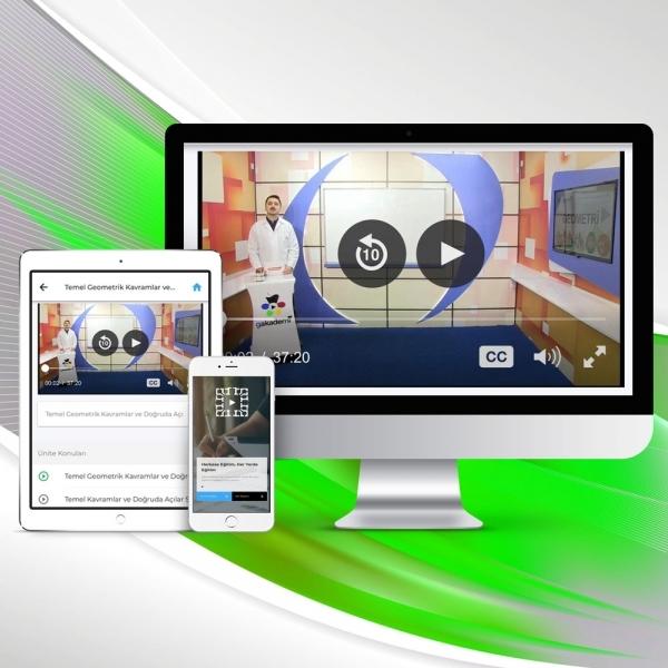 9. Sınıf İngilizce Online Görüntülü Eğitim Seti