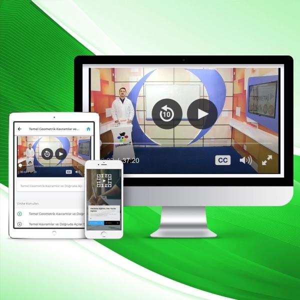 9. Sınıf Matematik Online Görüntülü Eğitim Seti