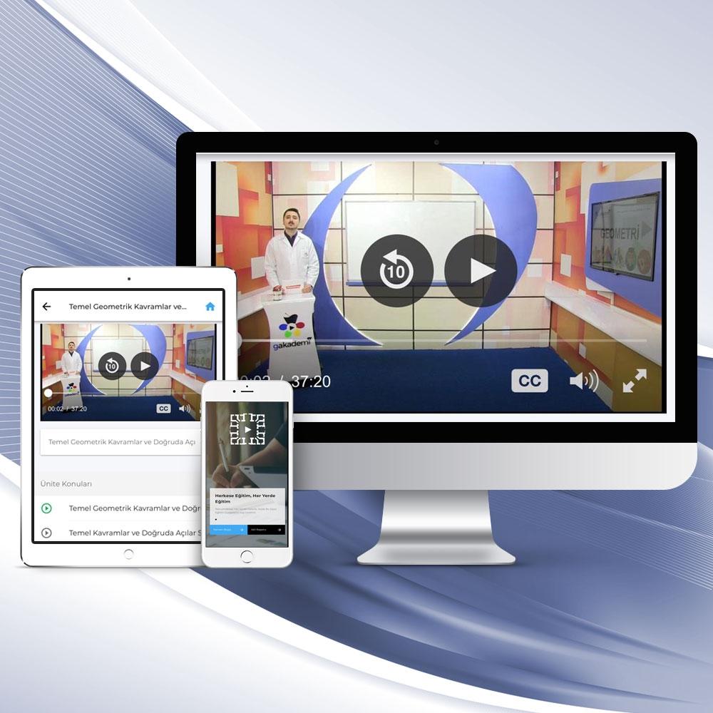 9. Sınıf Tüm Dersler Online Görüntülü Eğitim Seti