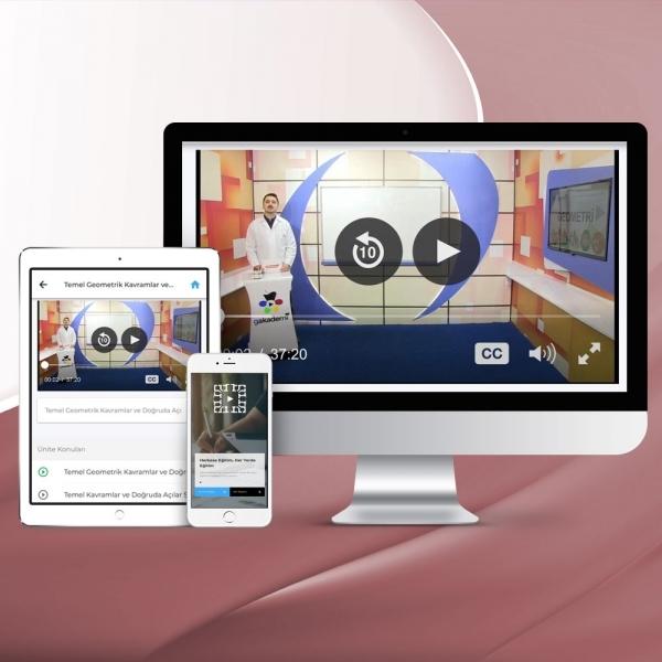 AYT Biyoloji Online Görüntülü Eğitim Seti