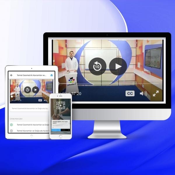 AYT Coğrafya Online Görüntülü Eğitim Seti