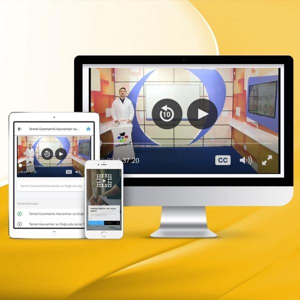 AYT Geometri Online Görüntülü Eğitim Seti