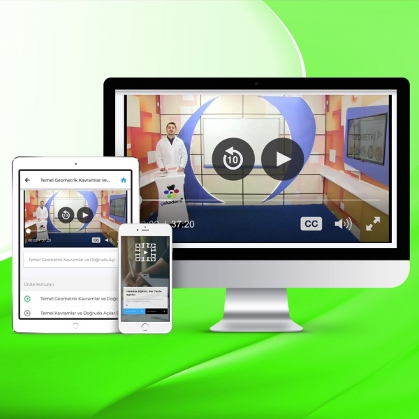 AYT Kimya Online Görüntülü Eğitim Seti