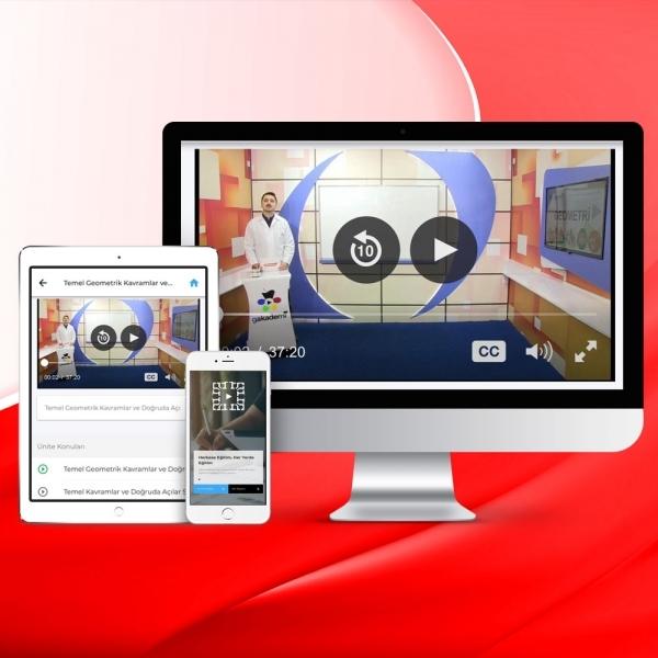 AYT Tüm Dersler Online Görüntülü Eğitim Seti