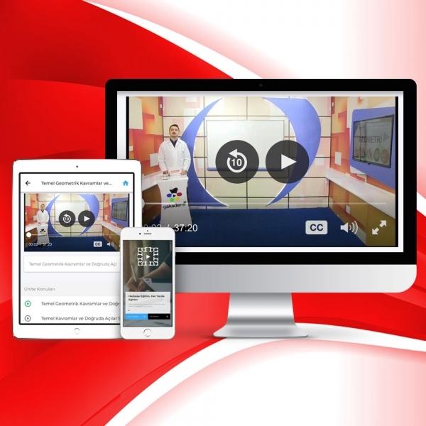 İlköğretim 5. Sınıf Tüm Dersler Online Görüntülü Eğitim Seti