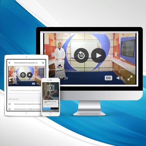 İlköğretim 6. Sınıf Tüm Dersler Online Görüntülü Eğitim Seti