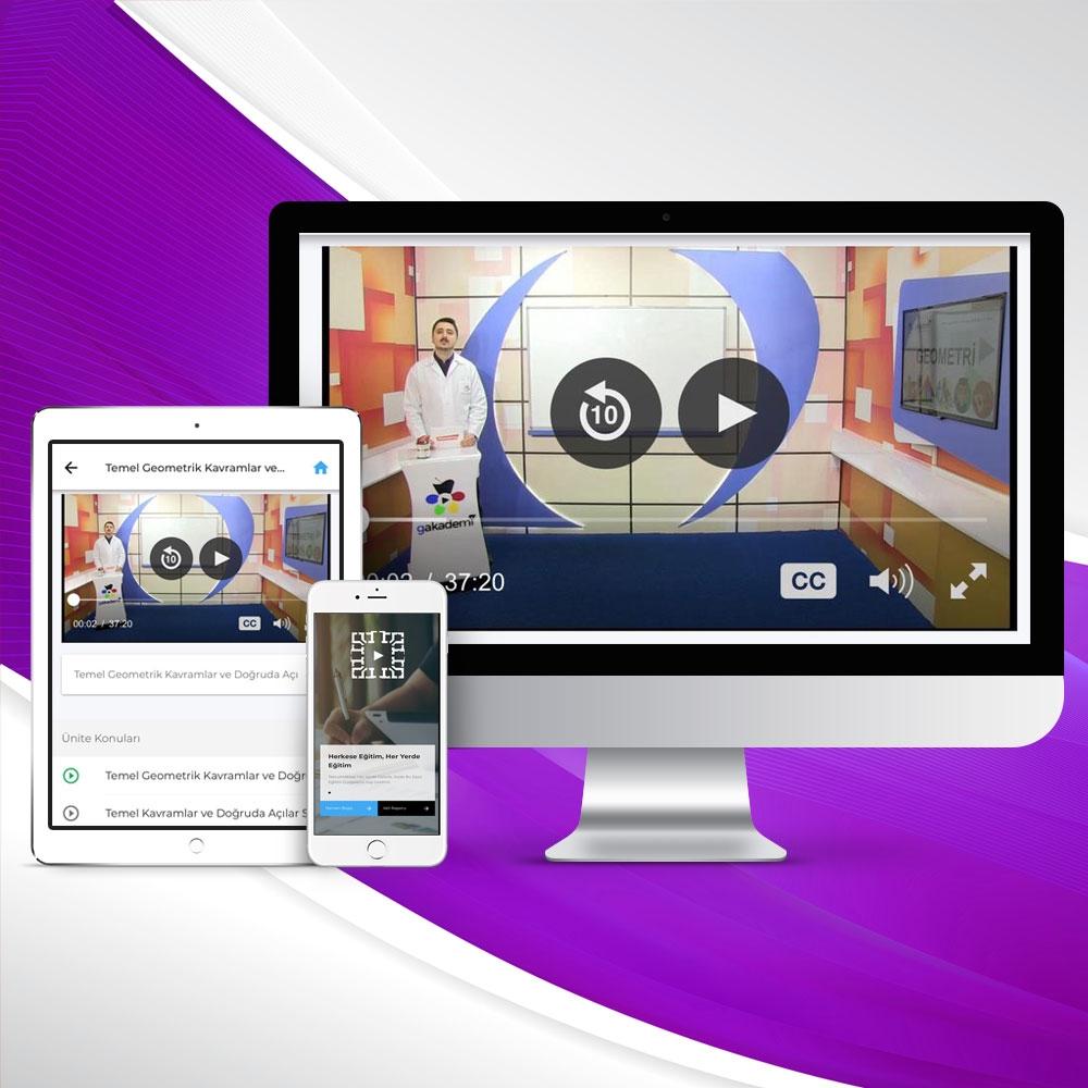 İlköğretim 7. Sınıf Tüm Dersler Online Görüntülü Eğitim Seti