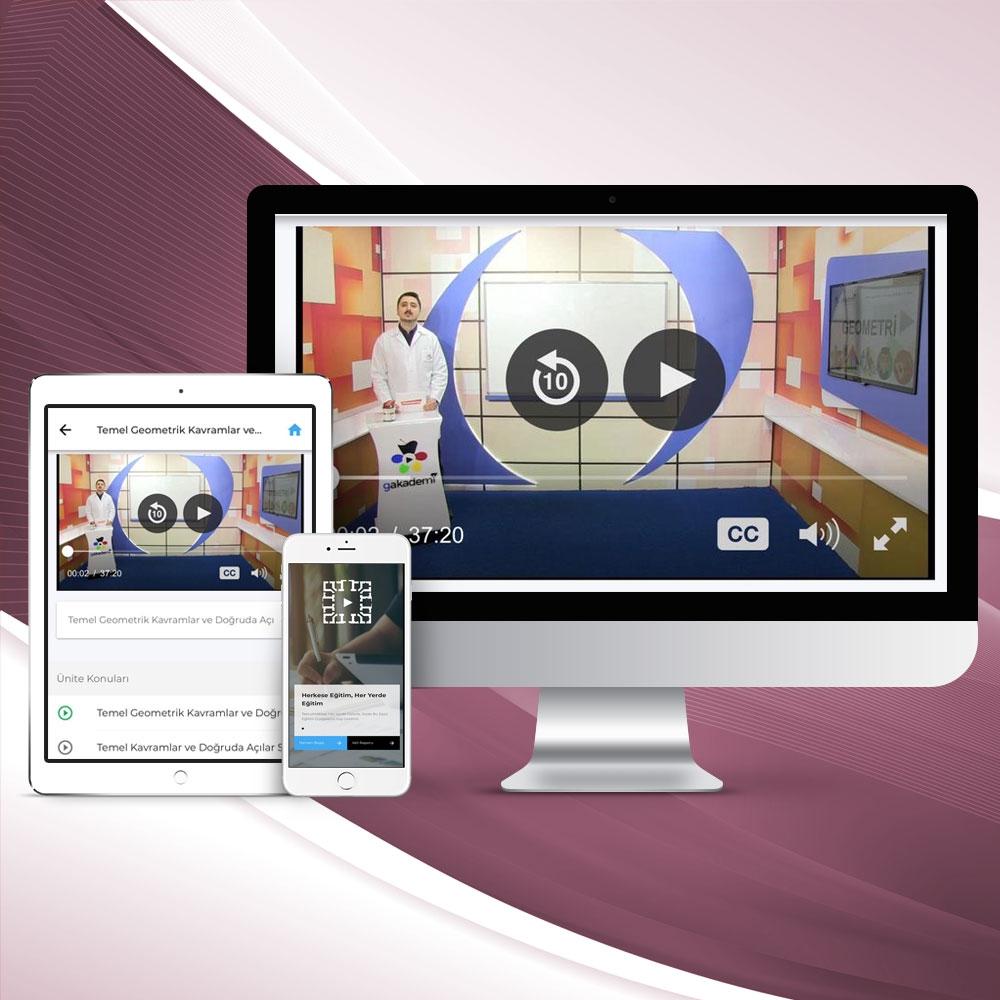 İlköğretim 8. Sınıf Tüm Dersler Online Görüntülü Eğitim Seti
