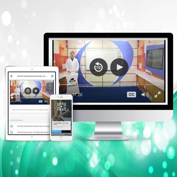 Lise İngilizcesi Online Görüntülü Eğitim Seti