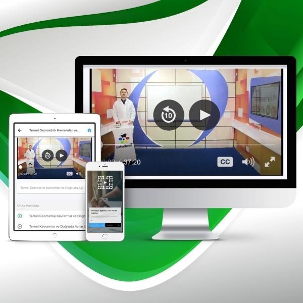 Pratik ALES Geometri Online Eğitim Seti