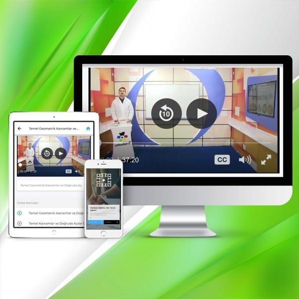 Pratik AÖF Genel Matematik Online Görüntülü Eğitim Seti