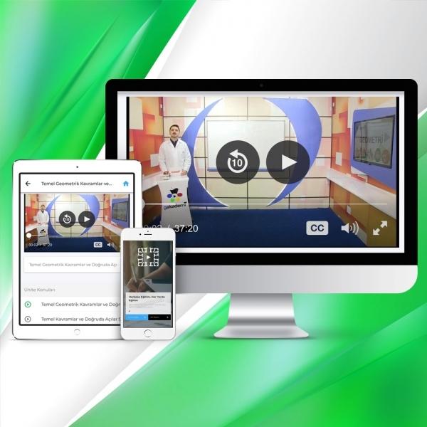 Pratik AÖF Matematik 1 Online Görüntülü Eğitim Seti