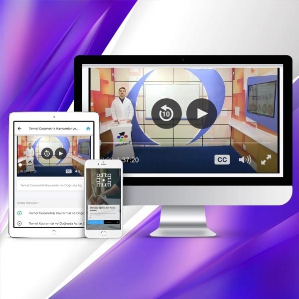 Pratik AÖF Matematik 2 Online Görüntülü Eğitim Seti