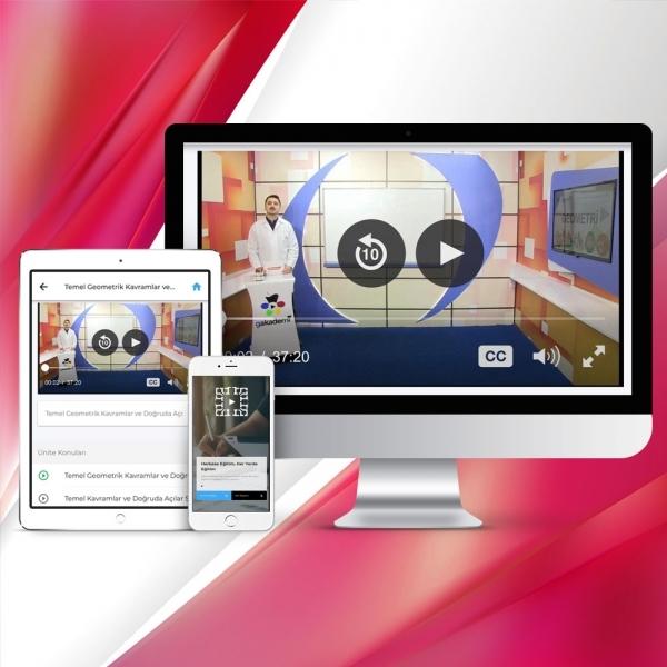 Pratik AÖF Türk Dili 1 Online Görüntülü Eğitim Seti