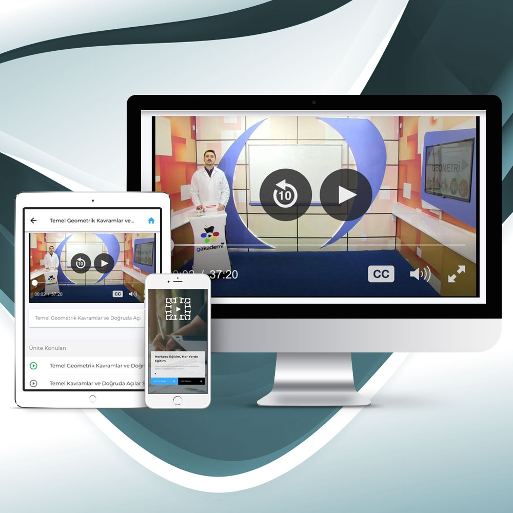 Pratik DGS Geometri Online Eğitim Seti