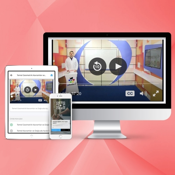 Pratik İngilizce Online Görüntülü Eğitim Seti (Başlangıç-Orta-İleri Düzey)