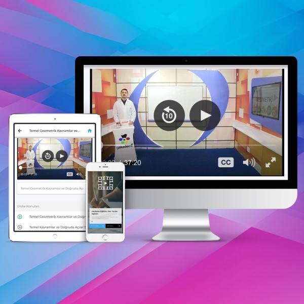 Pratik KPSS Geometri Online Eğitim Seti