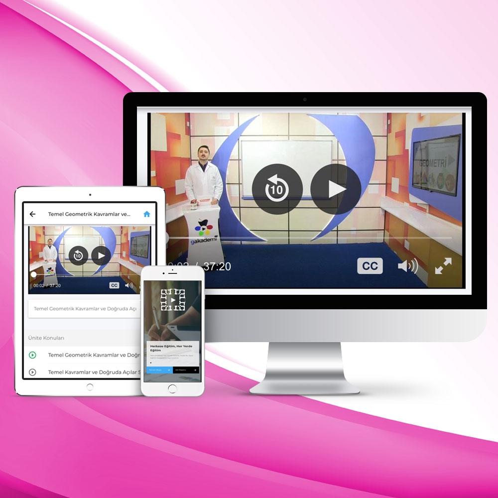 Pratik KPSS Öğretim Yöntem ve Teknikler Online Görüntülü Eğitim Seti