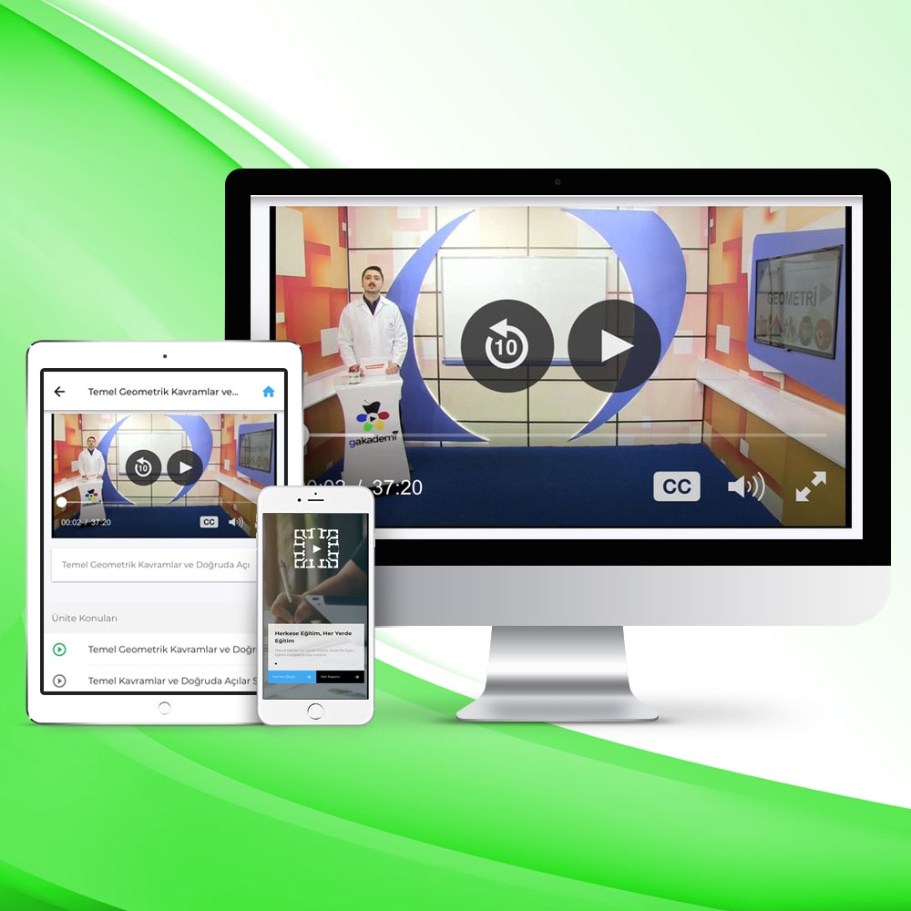 Pratik KPSS Ölçme Ve Değerlendirme Online Görüntülü Eğitim Seti