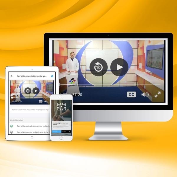 Pratik Lisans KPSS Genel Kültür Genel Yetenek Online Eğitim Seti