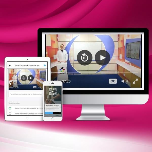 Pratik Lise KPSS Genel Kültür Genel Yetenek Online Eğitim Seti