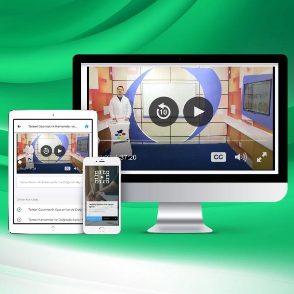 Pratik Önlisans KPSS Genel Kültür Genel Yetenek Online Eğitim Seti