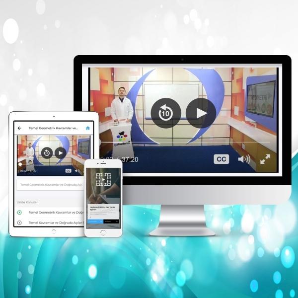 TEOG 8. Sınıf Fen ve Teknoloji Online Görüntülü Eğitim Seti