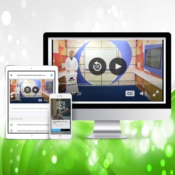 TEOG 8. Sınıf İngilizce Online Görüntülü Eğitim Seti