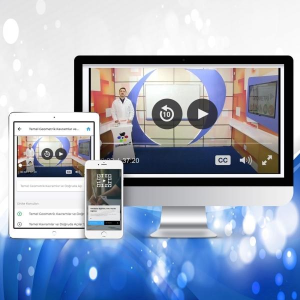 TEOG 8. Sınıf Matematik Online Görüntülü Eğitim Seti
