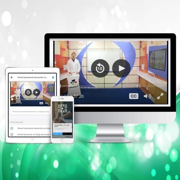 TEOG 8. Sınıf Türkçe Online Görüntülü Eğitim Seti