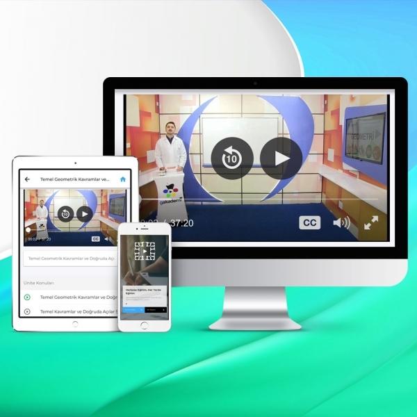 TYT Geometri Online Görüntülü Eğitim Seti