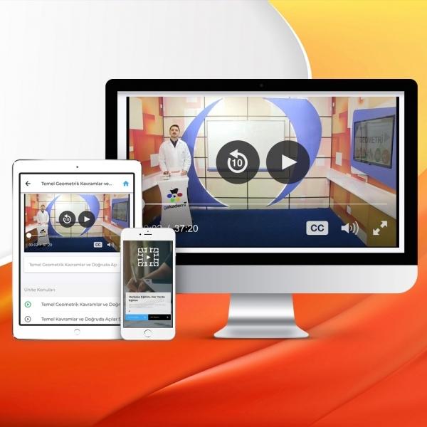 TYT Matematik Online Görüntülü Eğitim Seti