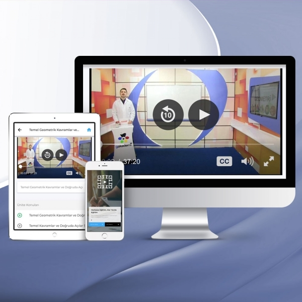 TYT Tüm Dersler Online Görüntülü Eğitim Seti