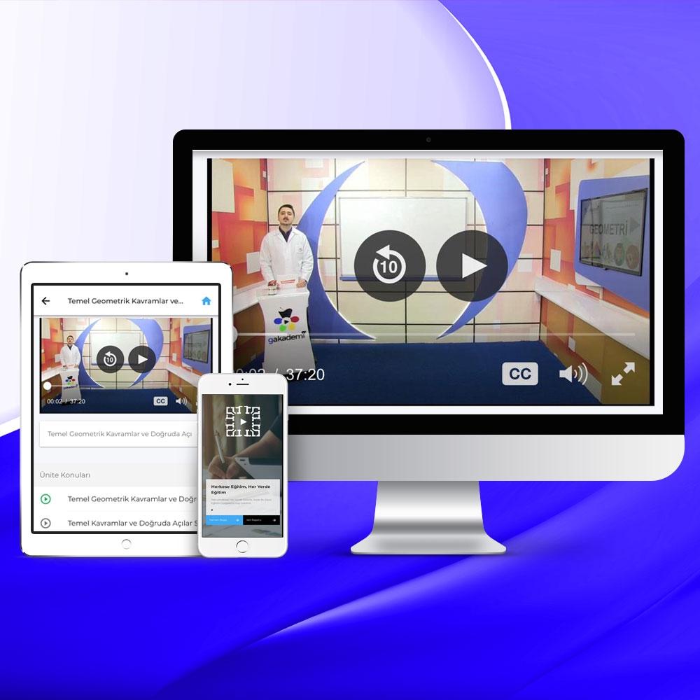 Üniversiteye Hazırlık Tüm Dersler Online Görüntülü Eğitim Seti